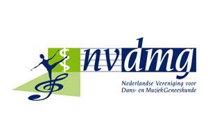 Logo Nederlandse Vereniging voor Dans en Muziekgeneeskunde